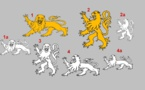 Les cinq minutes de l'héraldique normande — Nos léopards sont des lions…